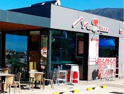 franquicia de pizzería en Madrid